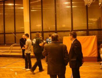 Koło PZW Nr9 w Błoniu - Uroczystość Szkółki 9.02.2011