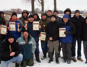 Koło PZW Nr 9 w Błoniu - Zawody podlodowe 10.01.2010