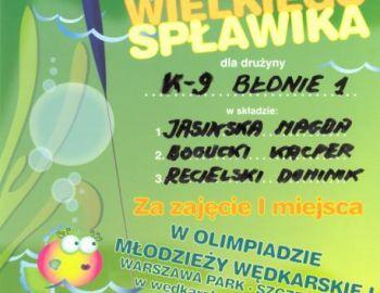 Koło PZW Nr 9 w Błoniu - Olimpiada 29.05.2010